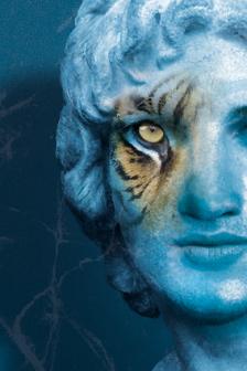 """""""Le tigre bleu de l'Euphrate"""", regia di Thierry Roisin, con Frédéric Leidgens, produzione La Comédie de Béthune - Centre dramatique National Nord-Pas de Calais."""