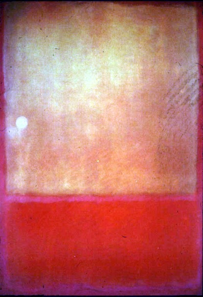 Mark Rothko, Ochre and red on red, 1954